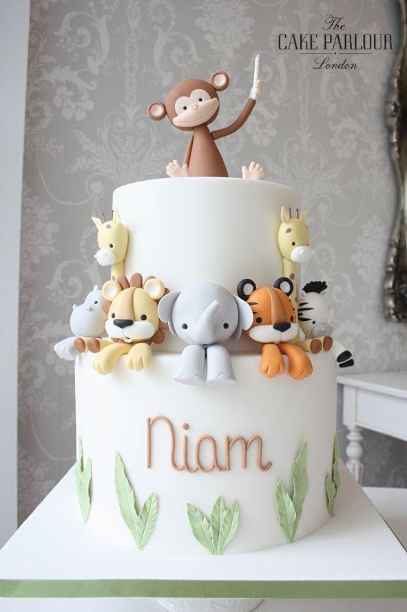 Tiere-Geburtstagstorte -  Tiere-Geburtstagstorte  - #birthdaycelebration #birthd...