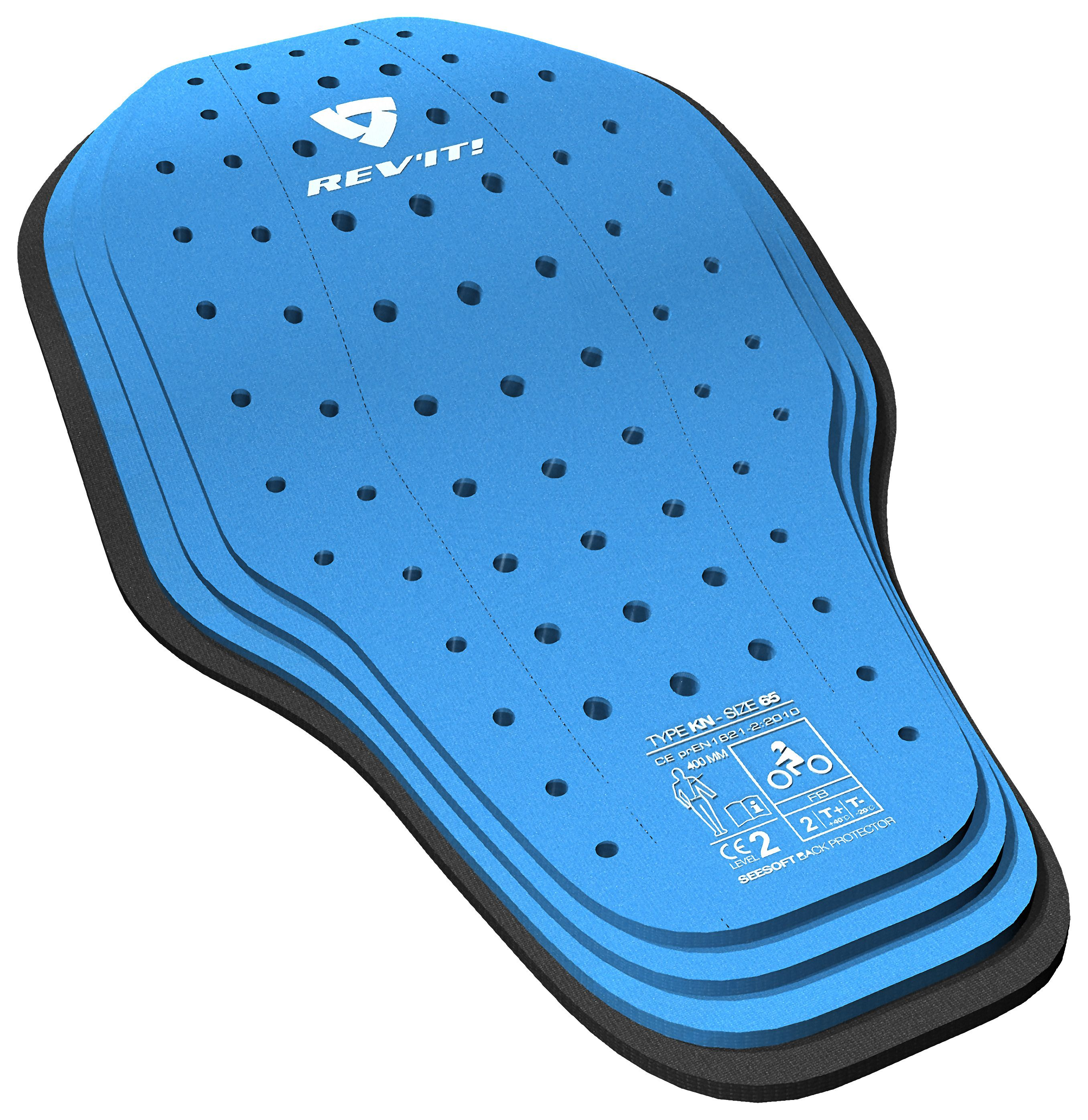 The revolutionary REVIT See Soft CE-Level 2 back protector is designedto absorb multiple impacts without compromising on comfort, ventilation or freedom of ...