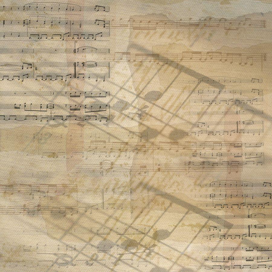 Scrapbook paper images - Music Scrapbook Paper