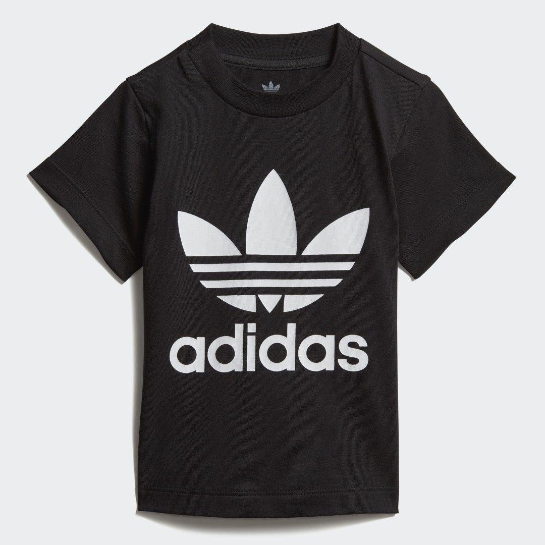 adidas Trefoil T-Shirt - Schwarz | adidas Deutschland