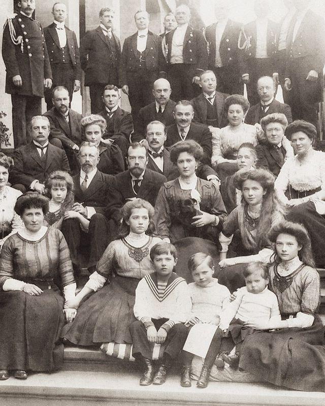 ROMANOV FAMILY /& ROYAL RELATIVES PRINT IMPERIAL RUSSIA TSAR NICHOLAS II