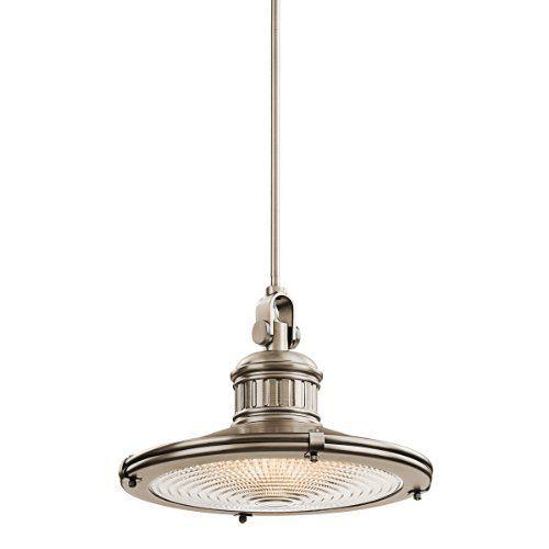 Amazon Com Kichler Lighting 42438ap 1 Light 100 Watt Sayre