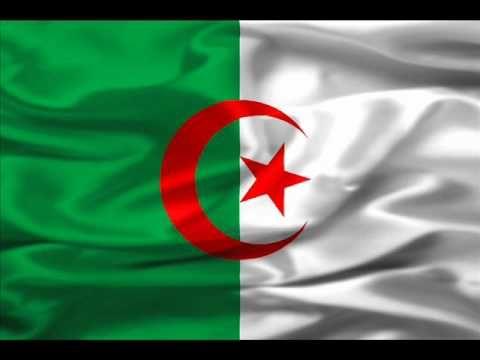 L Hymne Nationale Algerienne النشيد الوطني الجزائري قسما Algerian Flag Algeria Flag