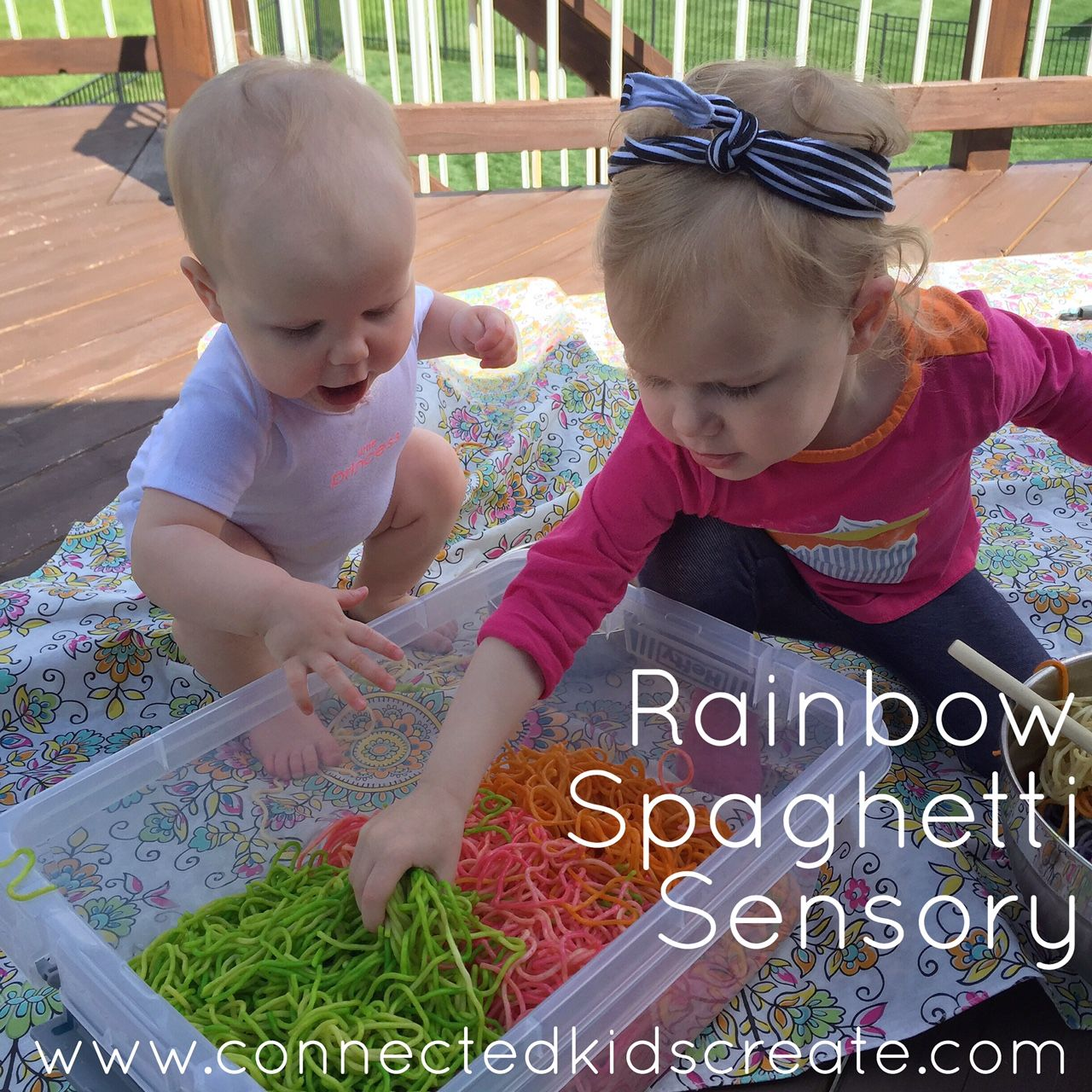 Fun Sensory Play For Both Baby And Toddler My 2 Year Old