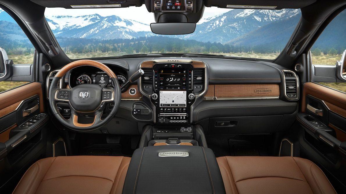 2019 Ram Heavy Duty Laramie Longhorn Interior Dodge Ram Longhorn Truck Interior Dodge Ram