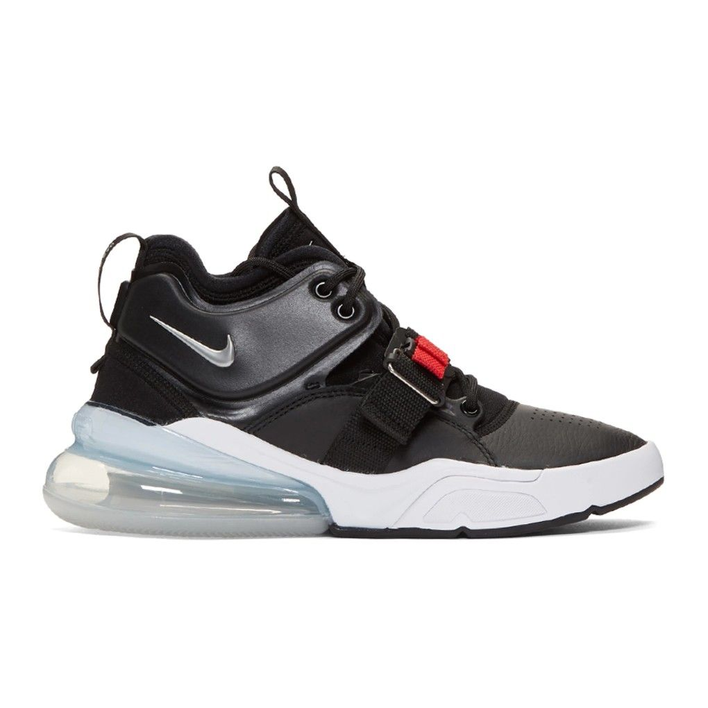 reputable site d2754 5966f Nike Baskets noires Air Force 270 €260 EUR
