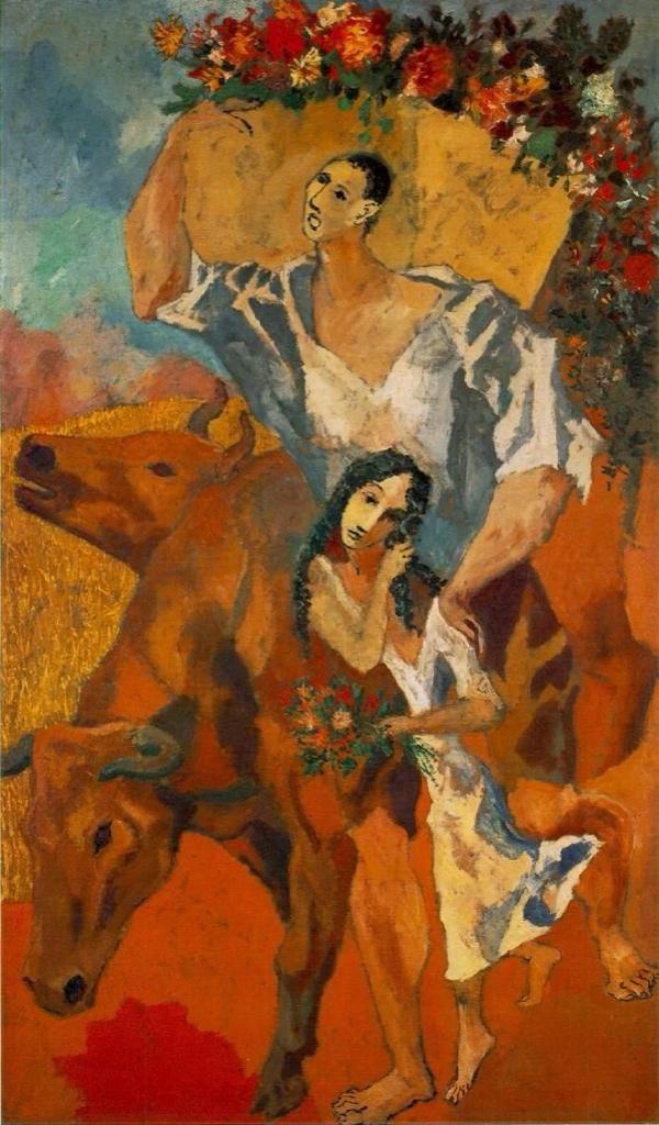 Pablo Picasso「Campesinos」