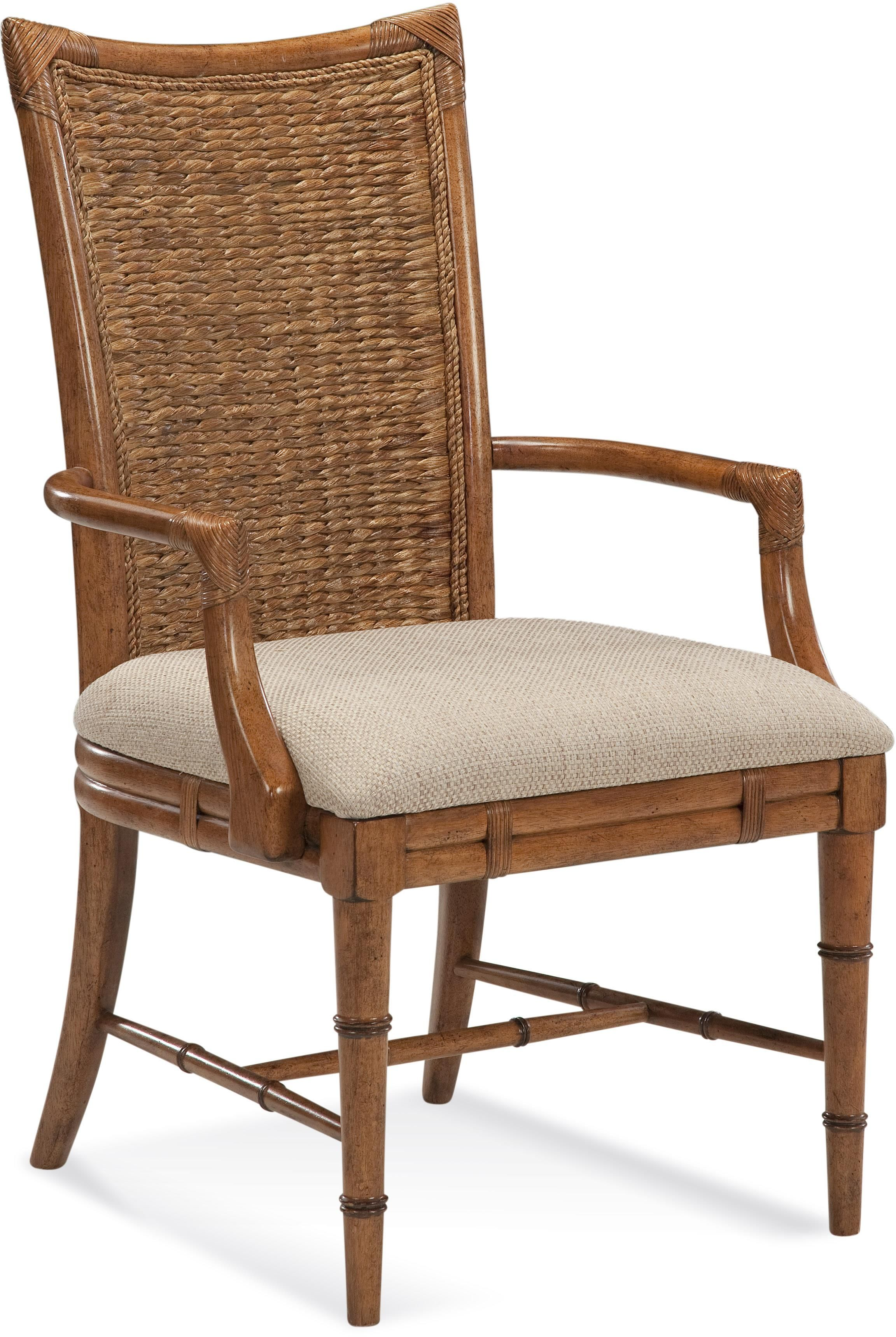 Paradise Bay Arm Chair By Lacquer Craft Usa At Homeworld Furniture