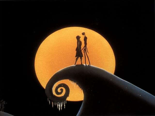 Jack And Sally Nightmare Before Christmas Wallpaper Nightmare Before Christmas Tim Burton
