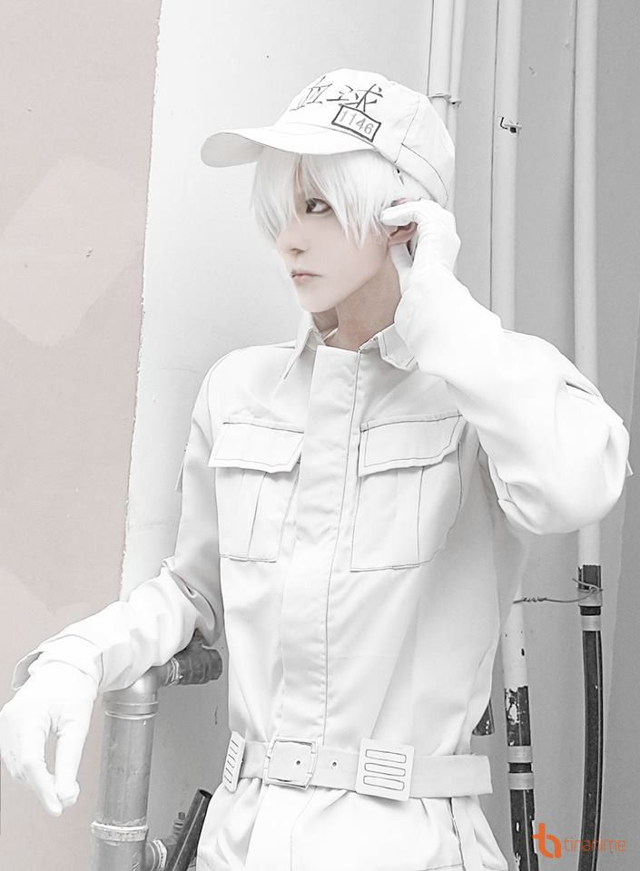Photo of Hakken's White Cosplay photo album has lost all the hearts of female fans!