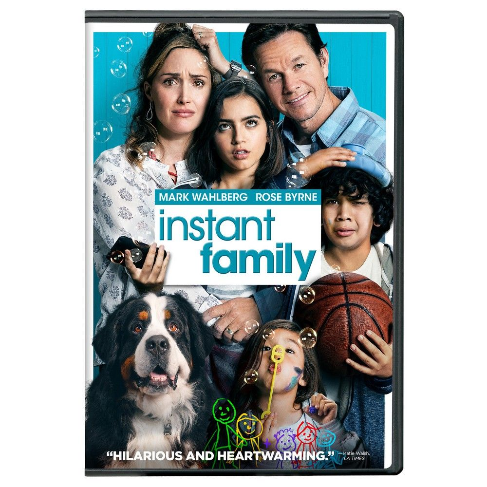 Instant Family Dvd Family Movies Mark Wahlberg Family Poster