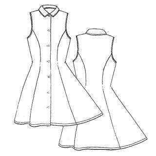 image patron n 425 robe cintr e d coupe princesse 12 16 ans fregoli kits pr ts coudre. Black Bedroom Furniture Sets. Home Design Ideas