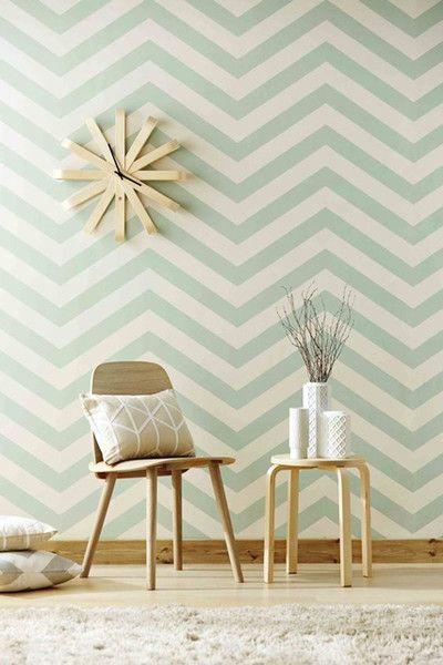 Chevron Prints Room Wallpaper Wallpaper Living Room Chevron Wallpaper