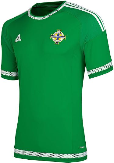 half off 000d6 381b5 NORTHERN IRELAND 2015 HOME KIT | Football Jersey | Soccer ...