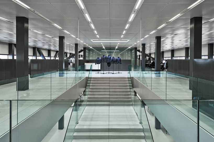 OMA envisions G Star RAW HQ in amsterdam as airport hangar
