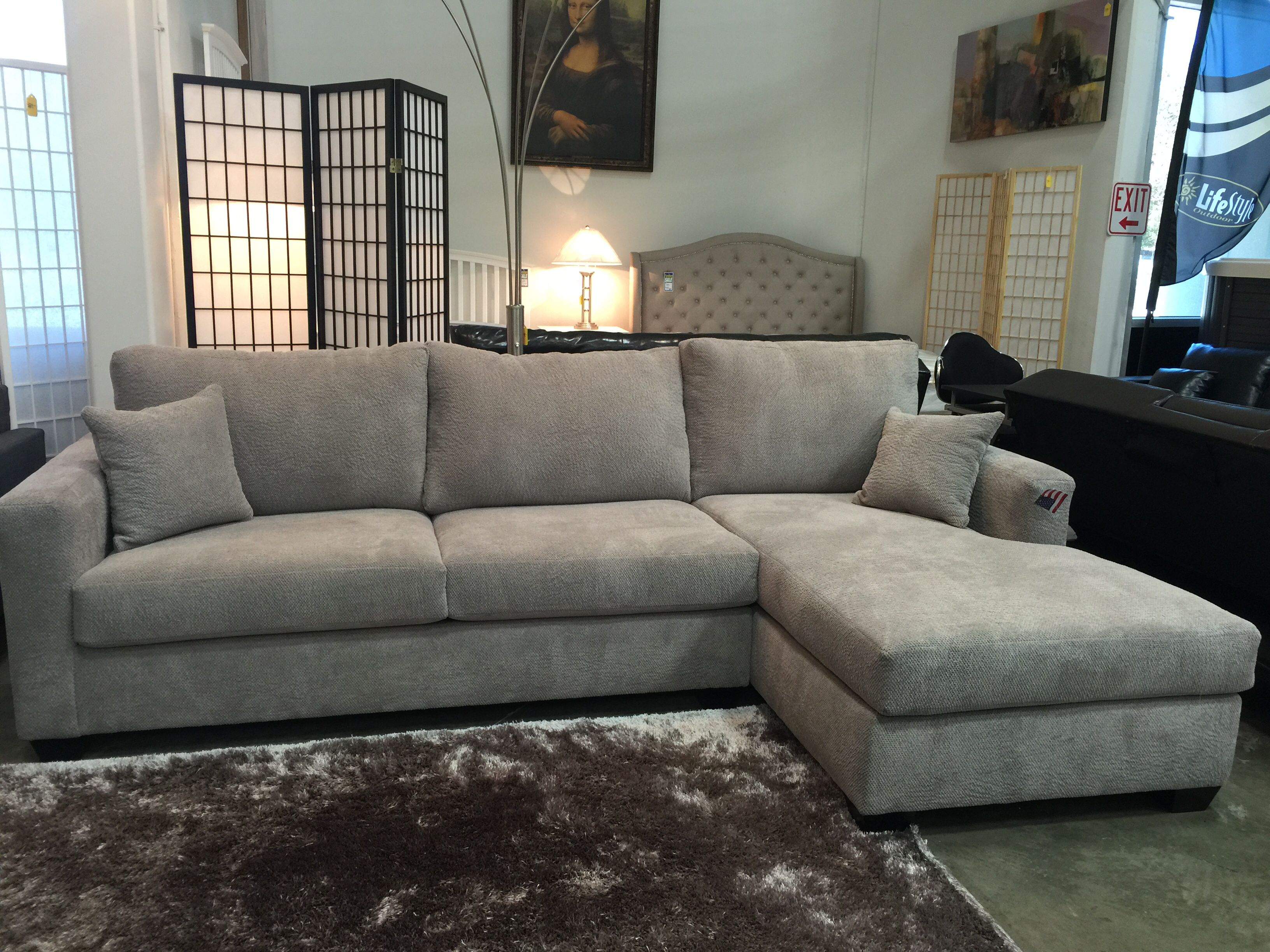 Custom Sectional different colors and sizes made in Los Angeles