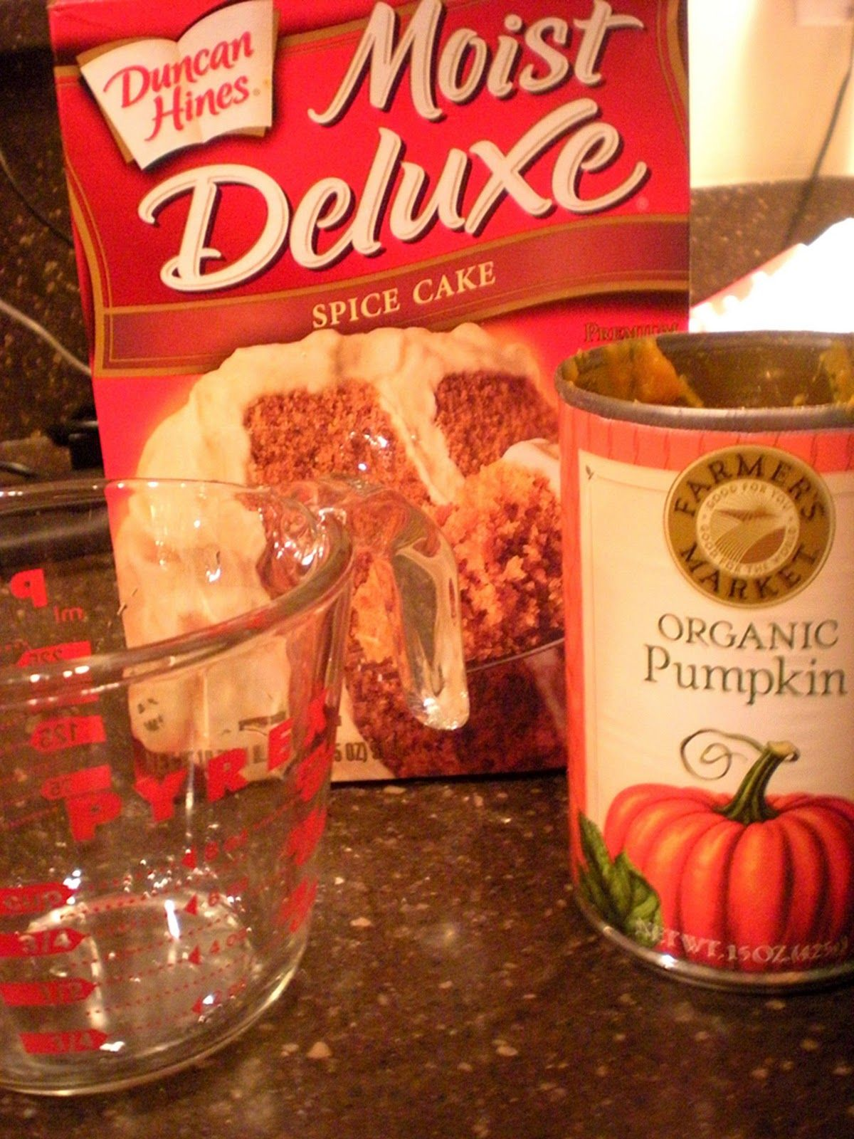Best ever 3 ingredient pumpkin cake with images