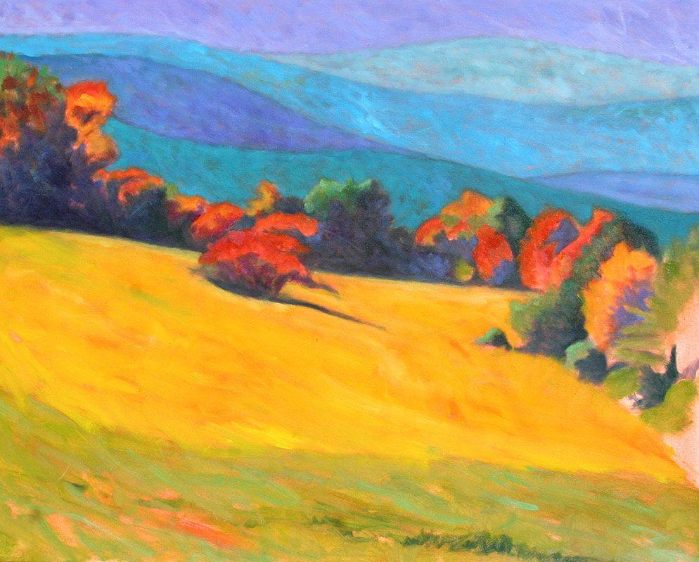 Peter Batchelder New England Contemporary Artist Oil Painting Inspiration Landscape Art Landscape Paintings