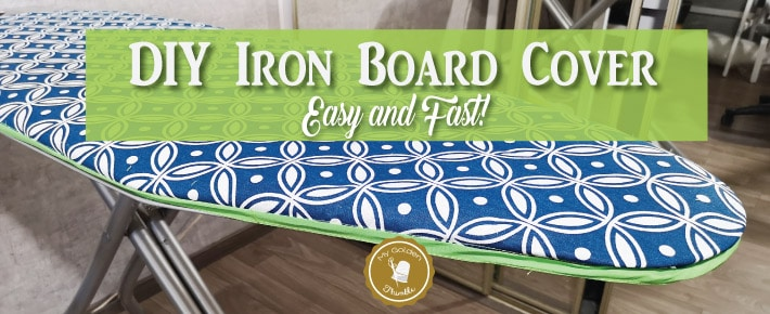 Ironing Board Cover DIY Easy and Quick Tutorial! Ironing