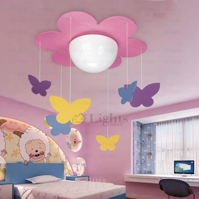 Kids Ceiling Light Fixtures Pink Butterfly Pendant Ceiling Lights Ceiling Light Fixtures Light Fixtures