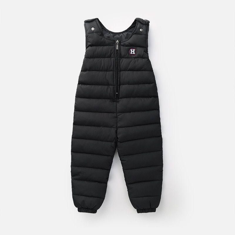 99ce627f758f Children S Down Jacket Pants Baby Boys Outside Crotch Strap Winter ...