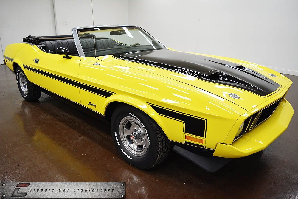 1973 Ford Mustang Convertible - Classic Car Liquidators | Automobile ...