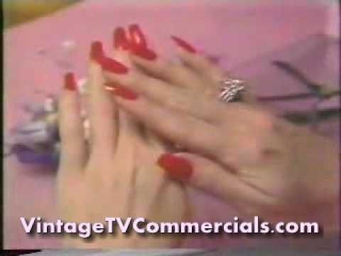 1985 Lee Press On Nails Commercial Lee Press On Nails Press On Nails 80s Ads