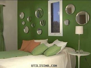 decoracin casas de familia dormitorio con espejos redondos utilisima com