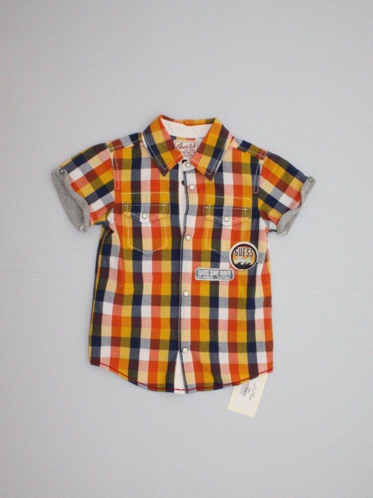 Camicia bambino Guess  8ff316836f04