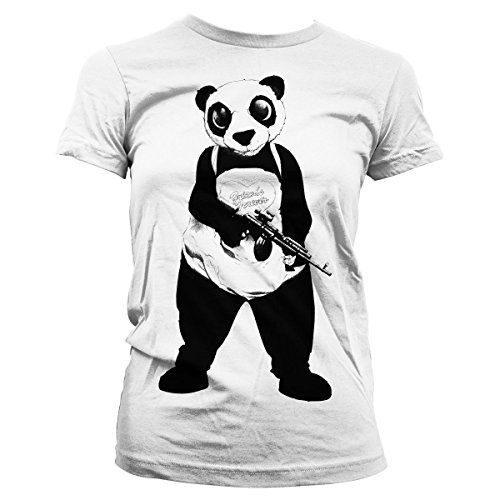 Officially Licensed Merchandise Suicide Squad Panda Girly Tee (White), XX-Large #camiseta #realidadaumentada #ideas #regalo