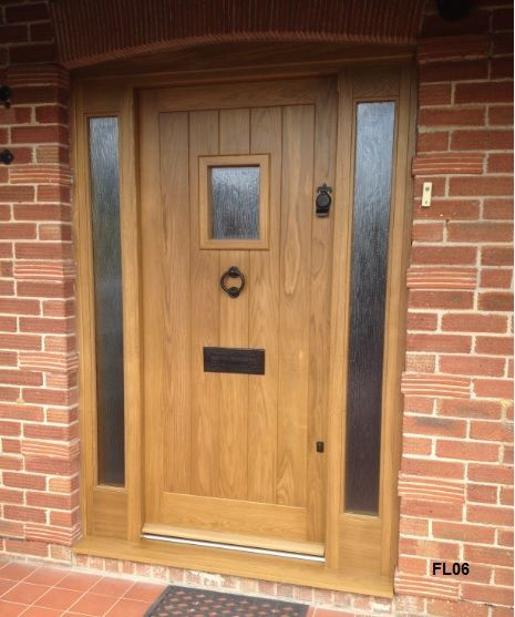 20 Front Door Ideas: Image Result For Oak Composite Front Door With Side Panel