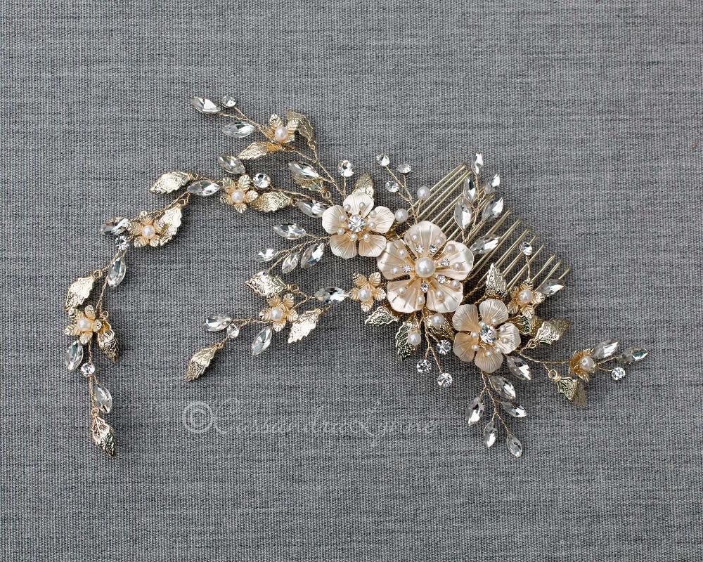 Pin On Bridal Hair Combs