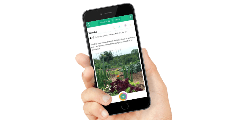 App to record your gardening progress (With images