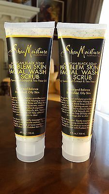 African Black Soap Facial Wash And Scrub by SheaMoisture #3