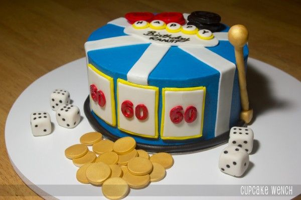Pin On Slot Machine Cakes