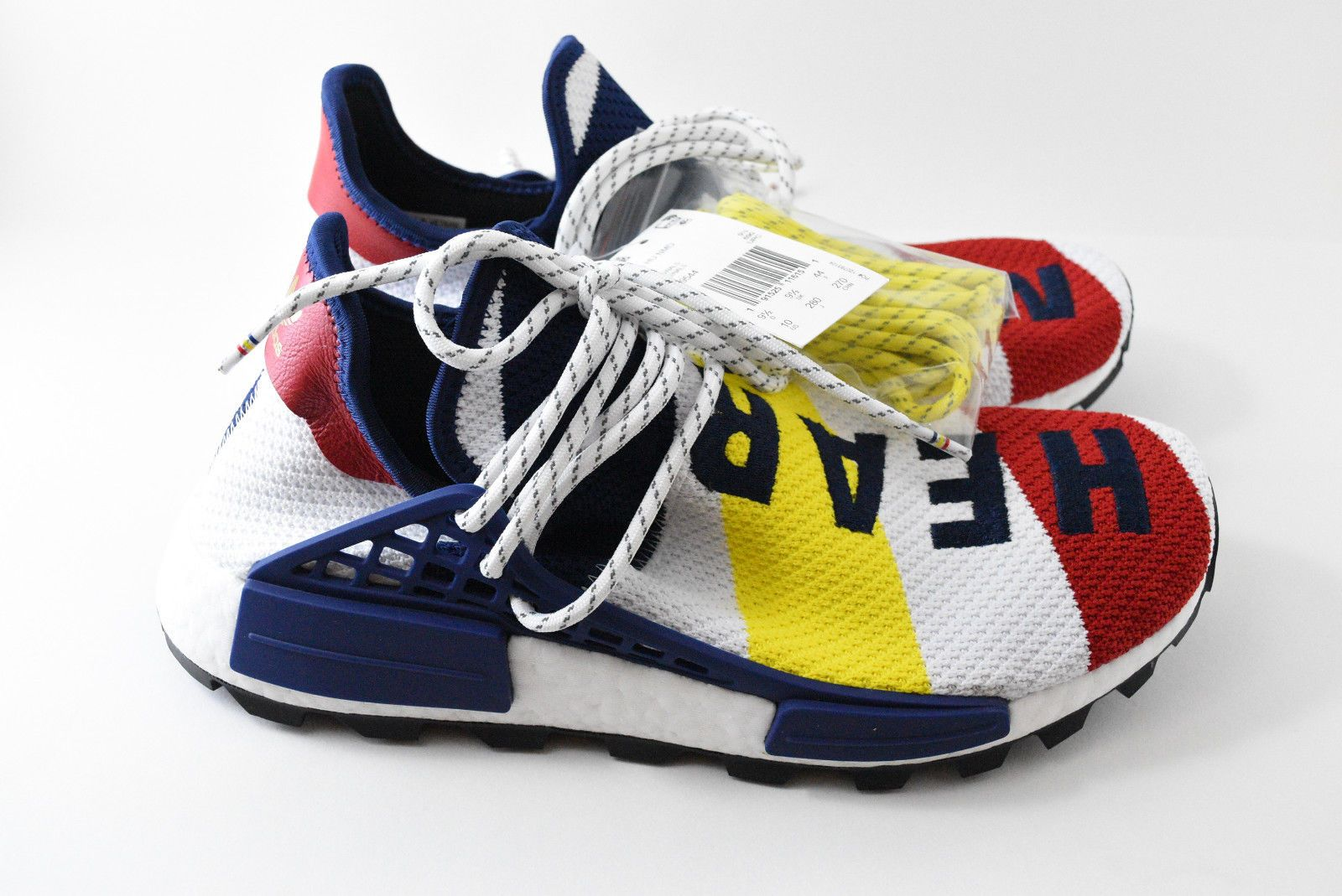 592fdf95789b0 Adidas Pharrell Williams BBC (Billionaire Boys Club) HU NMD Shoe Size10
