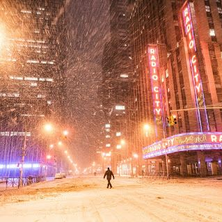 Winter Storm Juno - NYC