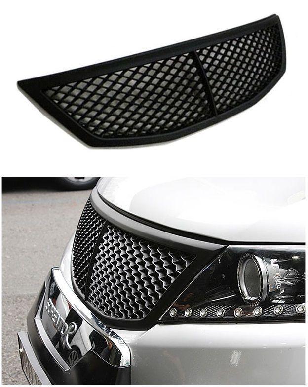 Front Hood Radiator Tuning Grill Kia Sorento Bentley Style Black