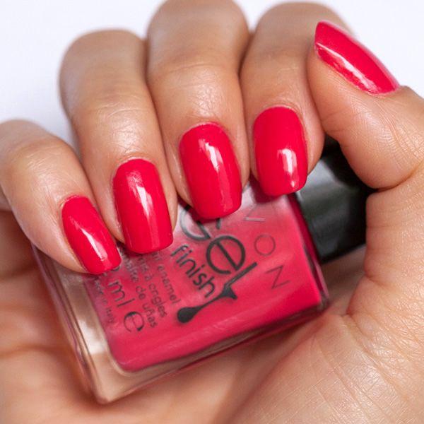 Avon GEL finish Fabulous and Milani Glosse top coat   Nails   Pinterest