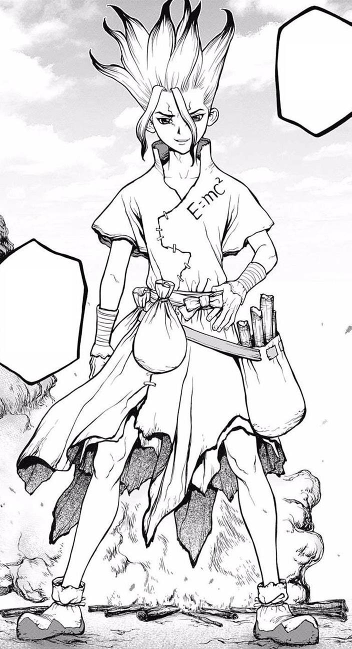 Senku Ishigami Dr Stone Wiki Fandom In 2020 Dark Pit Kid Icarus Stone Tattoo Anime Sketch
