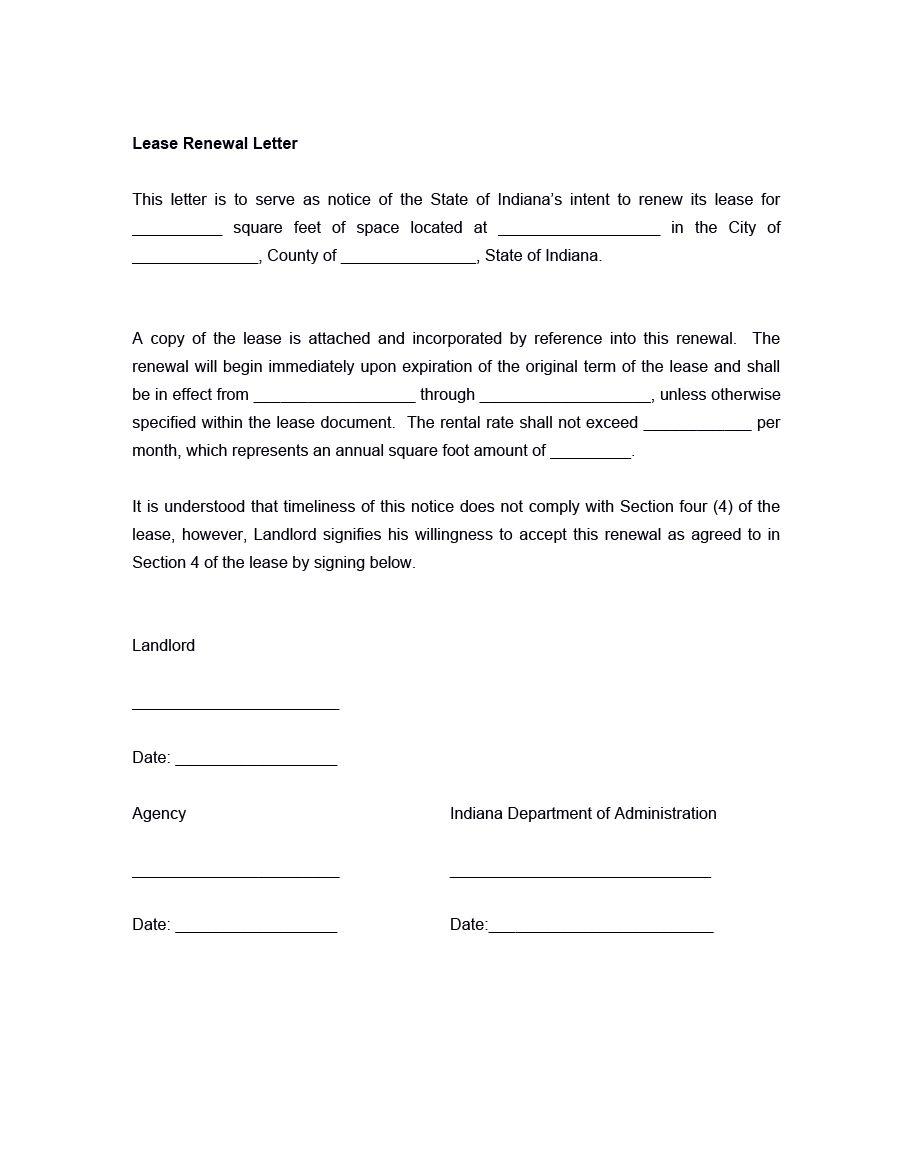 Download Lease Renewal Letter 12