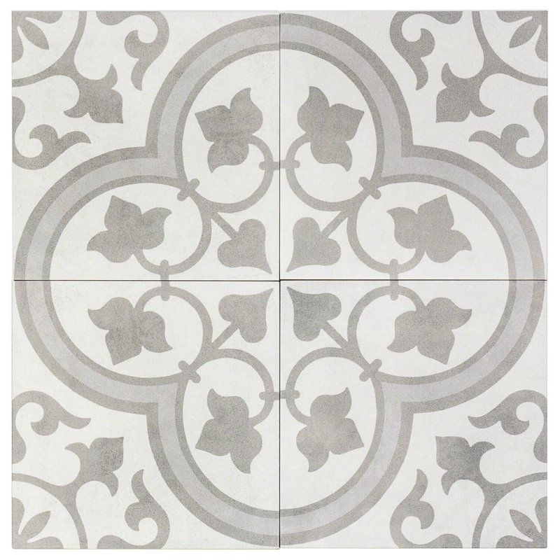 Sintra 9 X 9 Porcelain Spanish Wall Floor Tile In 2020