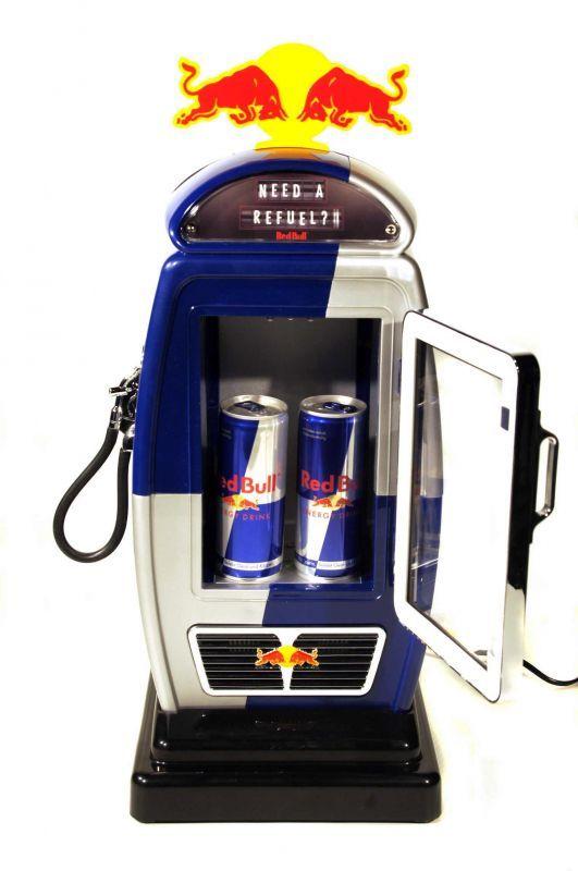 Red Bull Zapfsaule Red Bull Pop Design Bull
