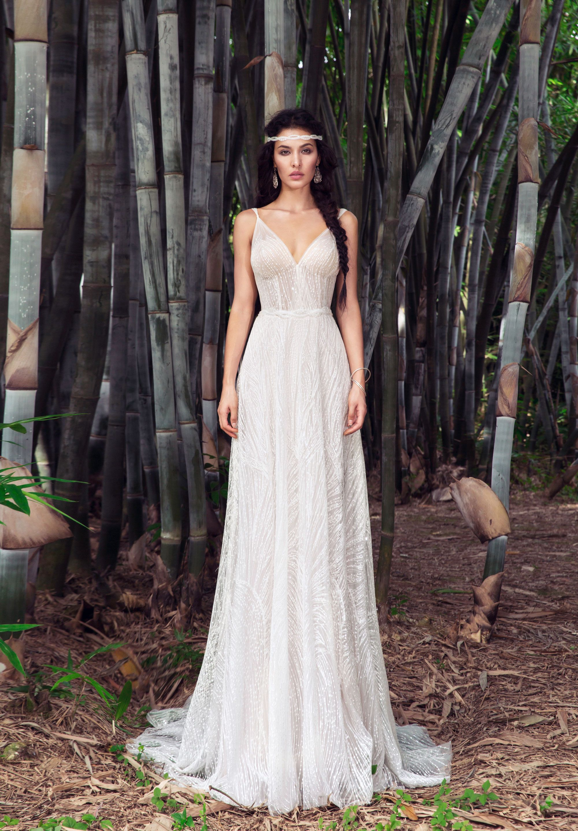 Quill Bridal Chic Nostalgia Bohemian And Romantic Wedding Dresses Boho Chic Wedding Dress Boho Wedding Dress Wedding Dresses