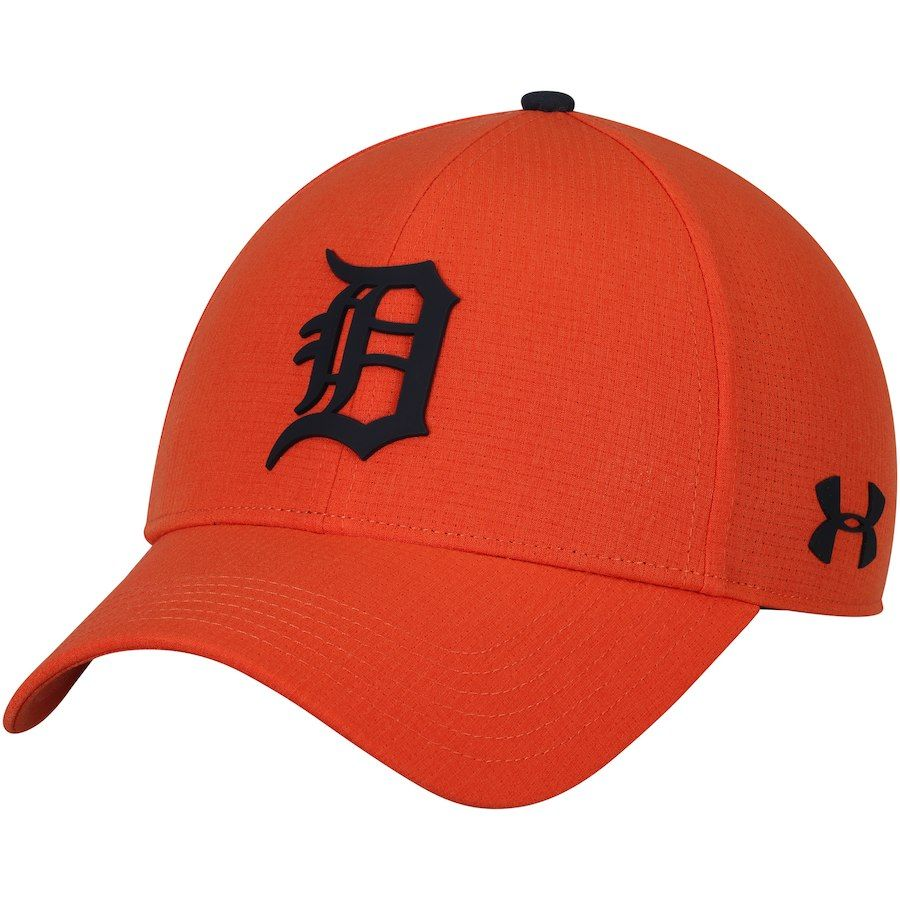 attractive price preview of save off Men's Detroit Tigers Under Armour Orange MLB Driver Cap 2.0 ...