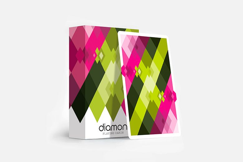 Cardistry diamon playing cards n 8 by artedame dutch