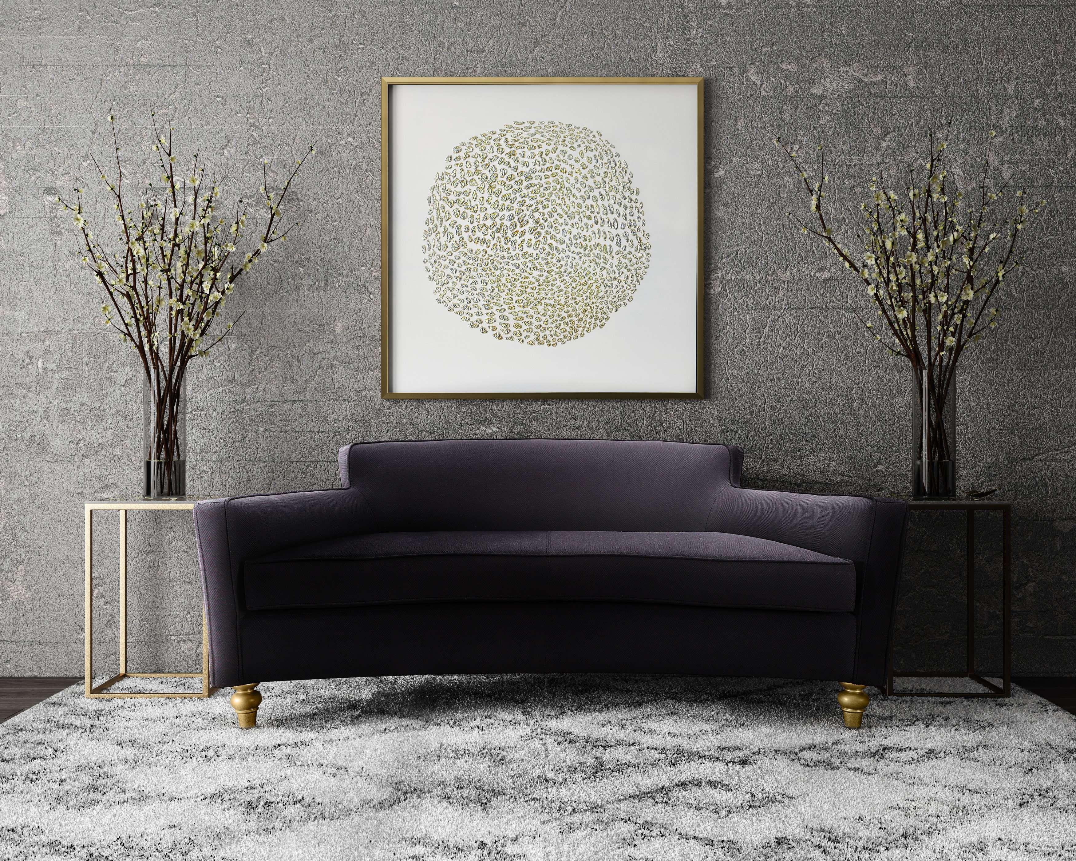 Lowest Price On Tov Furniture Oslo Black Herringbone Sofa Tov L6109 Shop Today Furniture Coffee Table Glam Living Room