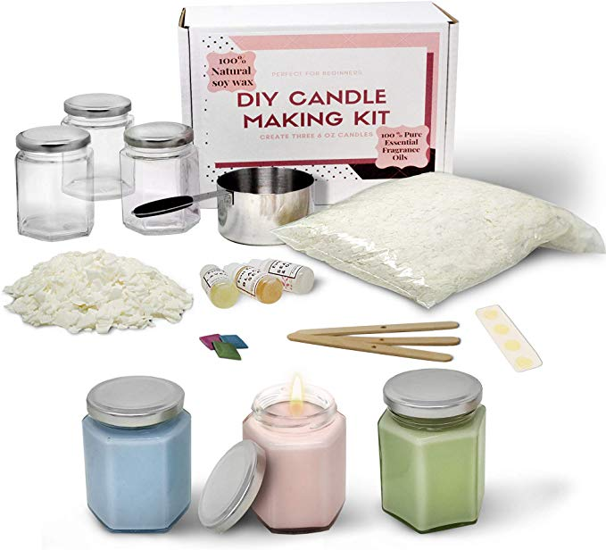 Complete Soy Wax Candle Making Kit DIY