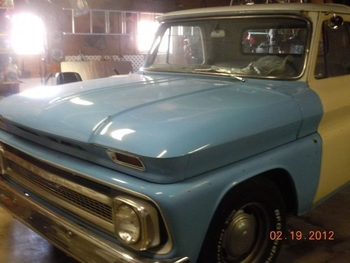 1965 Chevrolet short bed 425 small block, Dart heads