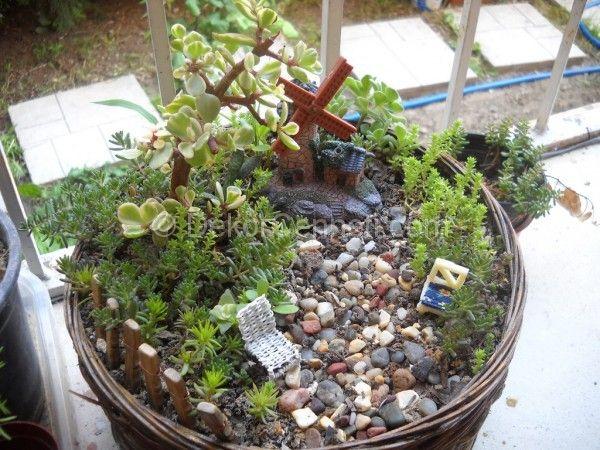 En Yeni Minyatür Bahçe Yapımı Galeri Genel Dekorasyon Mini Fairy